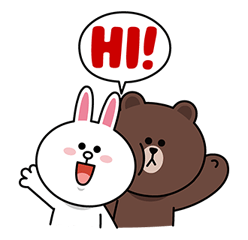 LINE Characters: Screen Hogs Stickers 15