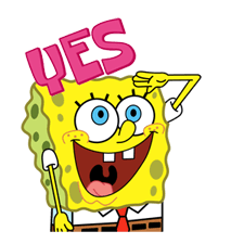 Stickers SpongeBob SquarePants 24