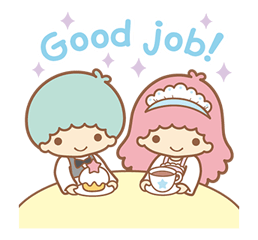 Little Twin Stars Sparkling Stickers 20