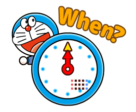 Doraemon on the Job Stickers 16
