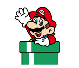Talking Super Mario Stickers 16