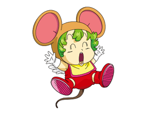 Dr.Slump -Arale Stickers 16