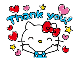 Hello Kitty's Quick Replies! Stickers 16