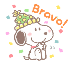 Lovely Snoopy Stickers 2 16