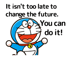 Doraemon's Adages Stickers 16
