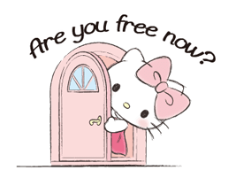 Hello Kitty Polite Stickers 16
