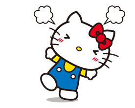 Hello Kitty 2 Stickers 16
