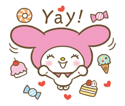 My Melody: Sweet as Can Be! Stickers 2 16