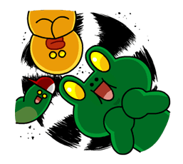 LINE Characters: Burning Emotion Stickers 16