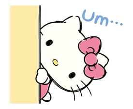Hello Kitty's Daily Cuteness Stickers 16