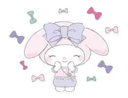 LARME x My Melody Stickers 16