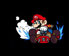 Mario Kart Stickers 16