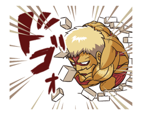 Attack on Titan Stickers 16