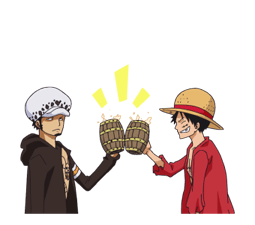 ONE PIECE Commemorative Stickers 16