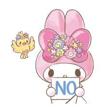 My Melody: Too Cute for You! Stickers 16
