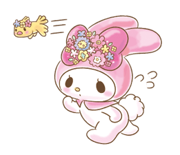 My Melody: Too Cute for You! Stickers 24