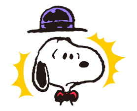 Snoopy in Disguise Stickers 24