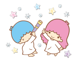 Little Twin Stars: Twinkly Stickers 17