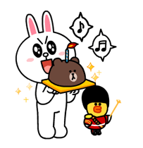 Brown & Cony's Lonely Hearts Date Stickers 17
