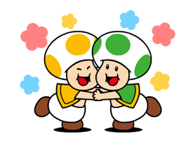 Talking Super Mario Stickers 17
