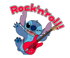 Stitch (Rowdy) Stickers 17
