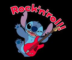 Stitch (Rowdy) Klistremerker 17