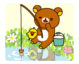 Rilakkuma~Korilakkuma with a new friend~ Stickers 17