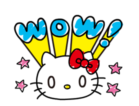 Hello Kitty's Quick Replies! Stickers 17