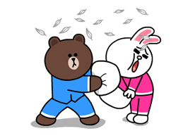 Brown & Cony's Thrilling Date Stickers 17