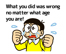 Doraemon's Adages Stickers 17