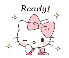 Hello Kitty Polite Stickers 17