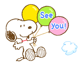 Super Spring Snoopy Stickers 17