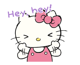 Hello Kitty's Daily Cuteness Stickers 17