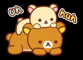 Rilakkuma ~ Kiiroitori Jurnal ~ Stickere 17