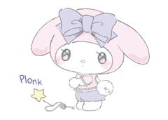 LARME x My Melody Stickers 17
