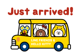 LINE FRIENDS & HELLO KITTY 17