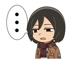 Attack on Titan Stickers 17