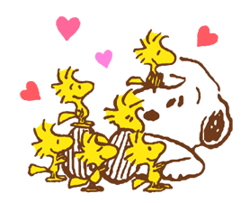SNOOPY & Woodstock Stickers 18