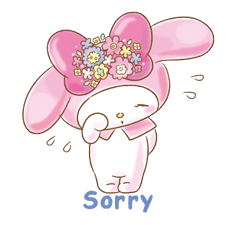 My Melody: Too Cute for You! Stickers 17