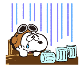 Snoopy in Disguise Stickers 17