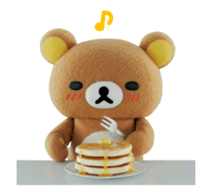 Rilakkuma film Stickers 39