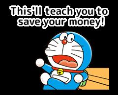 Doraemon: Котировки Наклейки 18