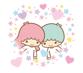 Little Twin Stars Sparkling Stickers 22