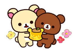 Rilakkuma~Korilakkuma with a new friend~ Stickers 18