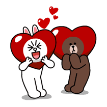 Brown & Cony's Thrilling Date Stickers 18