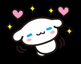 Sanrio ZNAKI × Moni Moni ZWIERZĘTA Naklejki 24