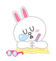 LINE Characters: Pastel Cuties Stickers 18