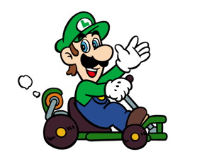 Mario Kart Stickers 18