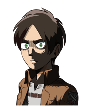 Attack on Titan Stickers 18