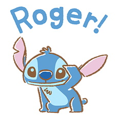 Stitch Cuteness Stickers 18